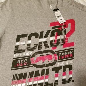 Ecko unltd with hood mens shirt
